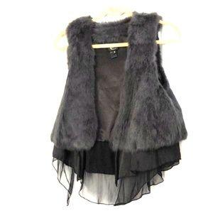 Fur vest by Roberto Cavalli